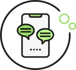 Icon für die Jobanfrage