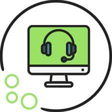 Icon für die Kontaktaufnahme