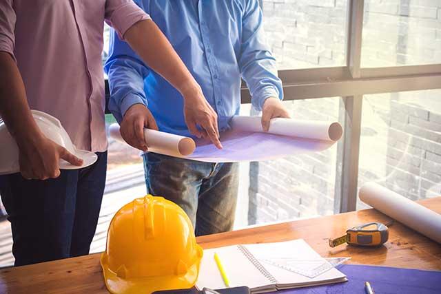 Hintergrundbild für Bauleiter (m/w/d) im Fassadenbau