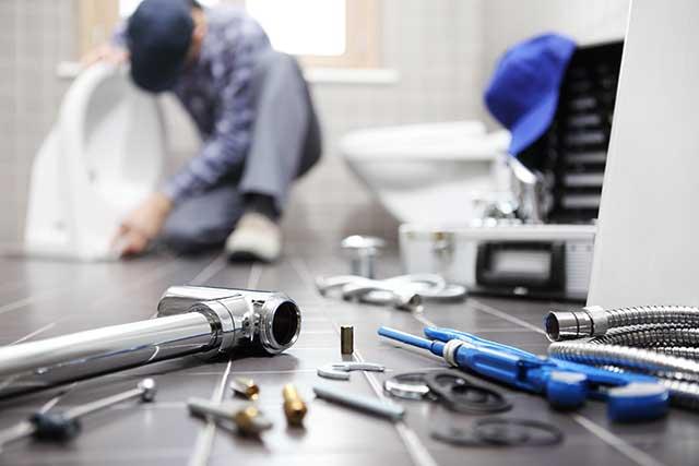 Hintergrundbild für Kundendienstmonteur / Anlagenmechaniker (m/w/d) Heizungs- und Sanitärtechnik