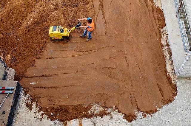 Hintergrundbild für Baugeräteführer / Baumaschinist (m/w/d) für Erdbau- und Fundamentarbeiten